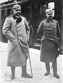 World War 1 Picture - Hindenburg and Ludendorff