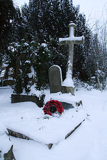 World War 1 Picture - Horace Smith-Dorrien's grave in Berkhamsted