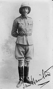 World War 1 Picture - General Hamilton in a formal pose (1910).