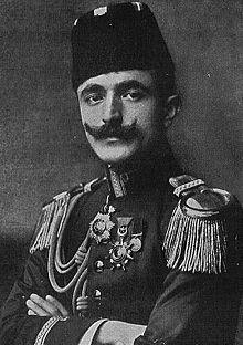 World War 1 Picture - War Minister Ismail Enver of the Ottoman Empire