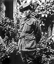 World War 1 Picture - Australian Victoria Cross recipient, Private John Carroll