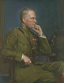 World War 1 Picture - William L. Kenly as painted by Pietro Pezzati