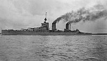 World War 1 Picture - HMS Lion, flagship of the battlecruiser squadron