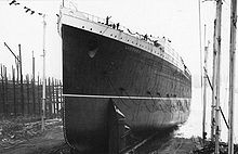 World War 1 Picture - Lusitania's launch, 7 June 1906