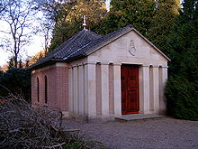 World War 1 Picture - Wilhelm II's tomb in Doorn, Netherlands