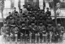 World War 1 Picture - 1916, the general staff of the Mesopotamian campaign
