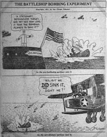 World War 1 Picture - 1921 cartoon in the Chicago Tribune