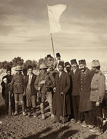 World War 1 Picture - The surrender of Jerusalem to the British, 9 December 1917