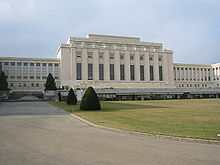World War 1 Picture - Palace of Nations, Geneva, the League's headquarters from 1929 until its dissolution