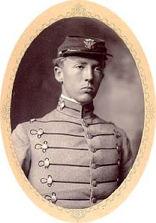World War 1 Picture - Patton at Virginia Military Institute