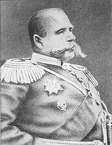 World War 1 Picture - Paul von Rennenkampf, Russian general, 1854-1918, commander of the 1st Russian Army during 1914.