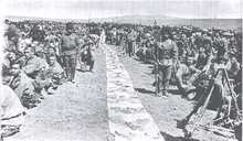 World War 1 Picture - 4th battalion of the Armenian volunteers engaged at Barduz Pass.[13]