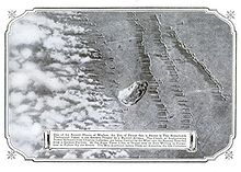 World War 1 Picture - Aerial photograph of a German gas attack on Russian forces circa 1916