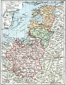 "World War 1 Picture - ""Poland & The New Baltic States"" map from a British atlas in 1920, showing still-undefined borders in the situation after the treaties of Brest and Versailles and before the Peace of Riga"