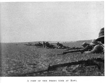 World War 1 Picture - Part of the Firing Line