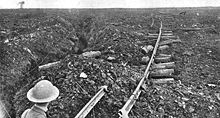 World War 1 Picture - The plateau north and east of Pozix�res, 28 August