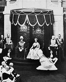 World War 1 Picture - George VI, grants Royal Assent to laws in the Canadian Senate, 19 May 1939. His consort, Queen Elizabeth, is to the right.