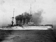World War 1 Picture - SMS Scharnhorst.