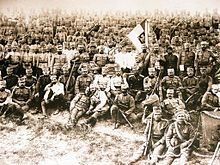 World War 1 Picture - Serbs in Corfu, 1916-1918