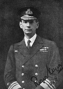 World War 1 Picture - Vice-Admiral Sir Roger Keyes, 1918