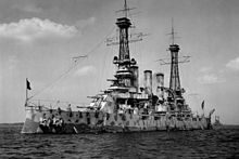 World War 1 Picture - USS New Jersey 1918
