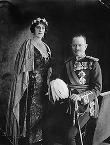 World War 1 Picture - The Baron and Baroness Byng of Vimy as the viceregal couple of Canada