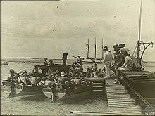 World War 1 Picture - German landing party on Direction Island. [1]