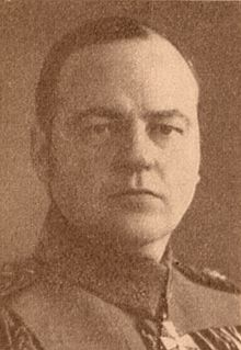World War 1 Picture - Major General Kurt Wallenius