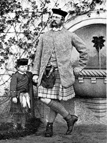 World War 1 Picture - Wilhelm with his father in 1862