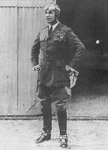 World War 1 Picture - Mitchell as Assistant Chief of Air Service (in non-regulation uniform)