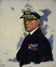 World War 1 Picture - Portrait of Beatty by William Orpen