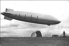World War 1 Picture - U.S. Navy Zeppelin ZRS-5