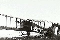 World War 1 Picture - Sopwith Snipe of No. 4 Squadron, c. 1918