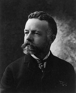 World War 1 Picture - United States Senator Henry Cabot Lodge opposed ratification of the Treaty of Versailles.