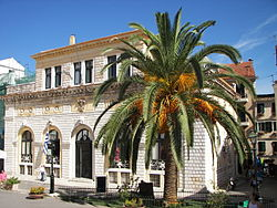 World War 1 Picture - Corfu City Hall (previously: Nobile Teatro di San Giacomo di Corfx�).
