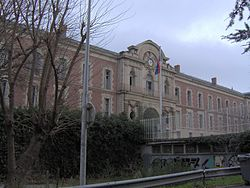 World War 1 Picture - The Lyc�e Joffre, a high school and former military barracks in Montpellier, bears Joffre's name