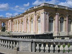 World War 1 Picture - The Grand Trianon Palace at Versailles is the site of the signing.