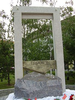 World War 1 Picture - Trianon memorial, B�k�scsaba.