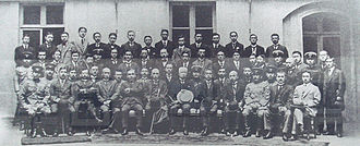 World War 1 Picture - Japanese delegation at the Paris Peace Conference 1919.