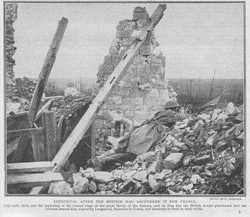 World War 1 Picture - Battle for Longueval