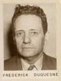 World War 1 Picture - FBI file photo of Duquesne.