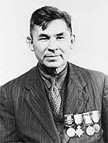 World War 1 Picture - Pegahmagabow in 1945 while attending a conference in Ottawa where the National Indian Government was formed.