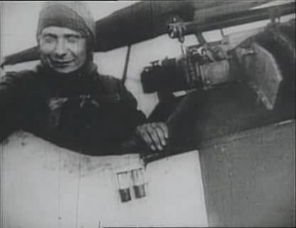 World War 1 Picture - Video clip of Hermann Goring in his cockpit in World War I.