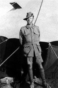 World War 1 Picture - Corporal Albert Jacka on Mudros, 1915