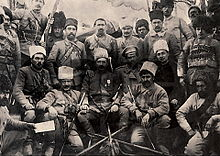 World War 1 Picture - General Andranik with his Fedayee Commanders