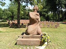 World War 1 Picture - A memorial for victims of aerial bombing in Karlsruhe, Germany