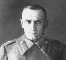 World War 1 Picture - Last photo of Admiral Kolchak taken before his execution in 1920