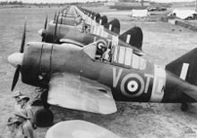 World War 1 Picture - Buffalos of No. 453 Squadron RAAF lined up at RAF Sembawang, circa November 1941.