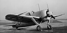 World War 1 Picture - Brewster Buffalo F2A-2