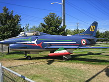 World War 1 Picture - A preserved example of the G.91 in Frecce Tricolori's colors
